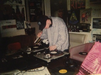 Dj Jay-Ski spinning on The Down Lo Mix Show at WKDU.